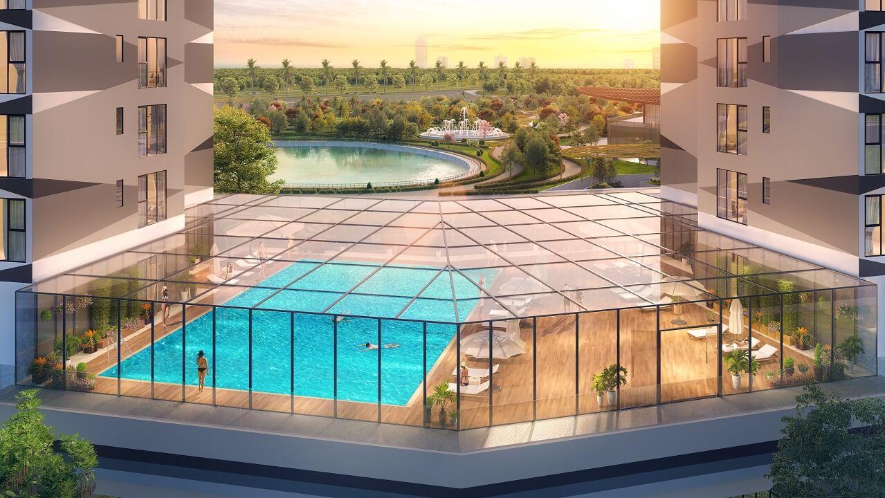 bể bơi dự án the matrix one