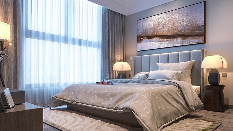 phòng ngủ chung cư lotus central