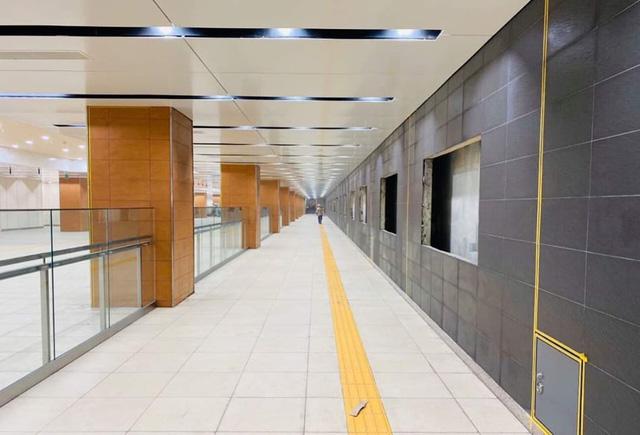 Khám phá bên trong ga ngầm Nhà hát Thành phố của tuyến metro Bến Thành - Suối Tiên - Ảnh 1.