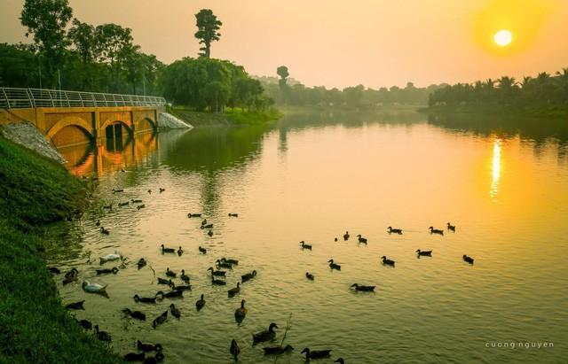 Bên trong đại công viên sinh thái lớn bậc nhất phía Đông Hà Nội có gì? - Ảnh 1.
