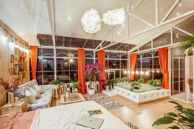 Cải tạo tầng thượng cũ kỹ thành không gian sống vintage lãng mạn - Ảnh 18.