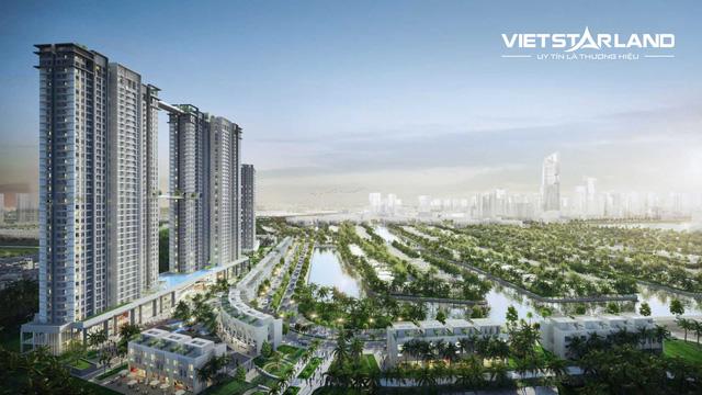 Vietstarland đứng đầu doanh số phân phối căn hộ Sky Oasis trong ngày đầu ra mắt - Ảnh 2.