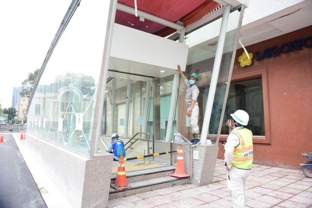 Khám phá bên trong ga ngầm Nhà hát Thành phố của tuyến metro Bến Thành - Suối Tiên - Ảnh 4.