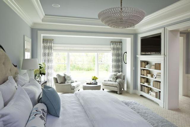 Những căn phòng đẹp sang trọng với sơn tường màu xám - Ảnh 5.