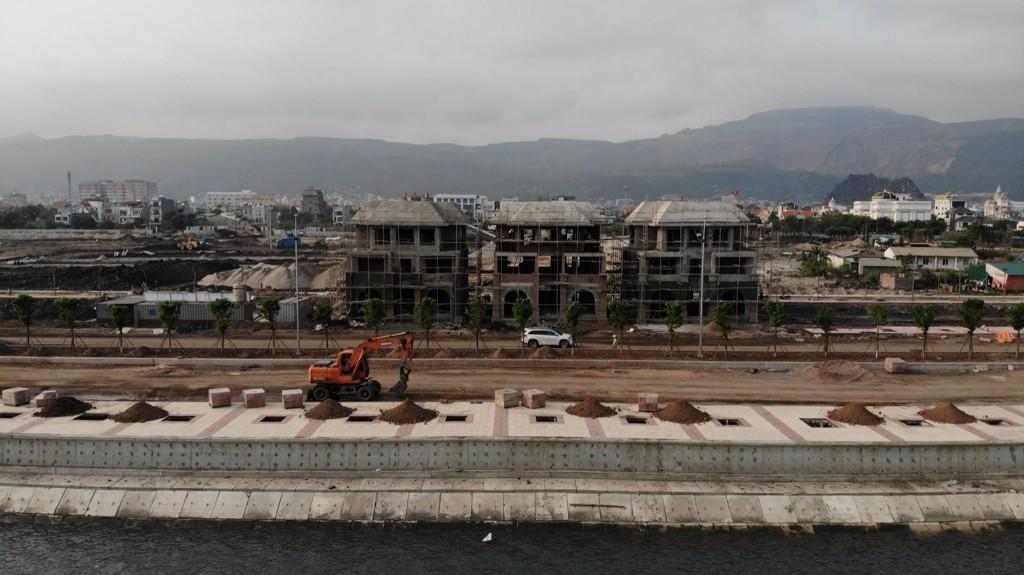 tiến độ dự án green dragon city tháng 4 năm 2020