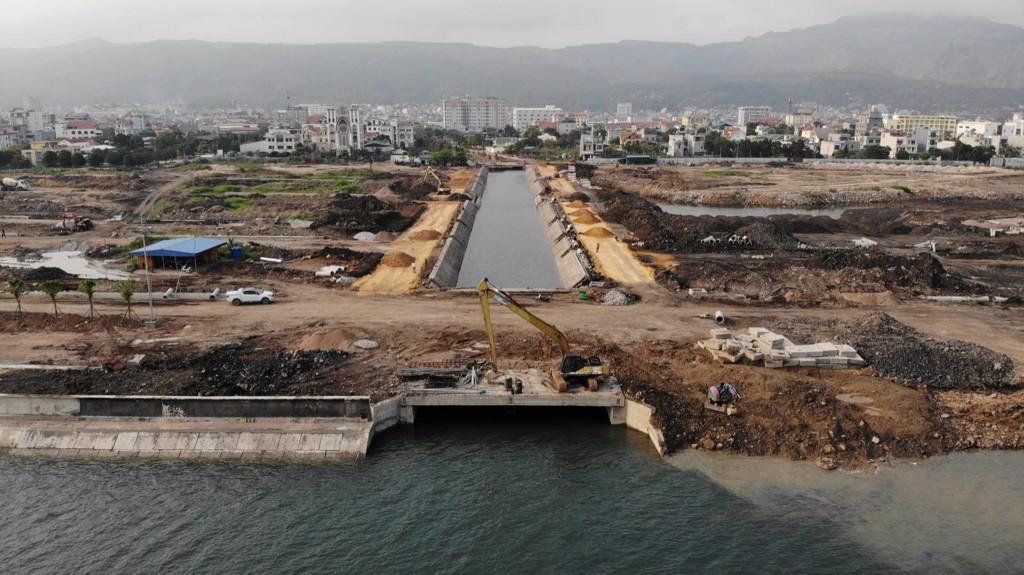 tiến độ thi công dự án green dragon city tháng 4 năm 2020