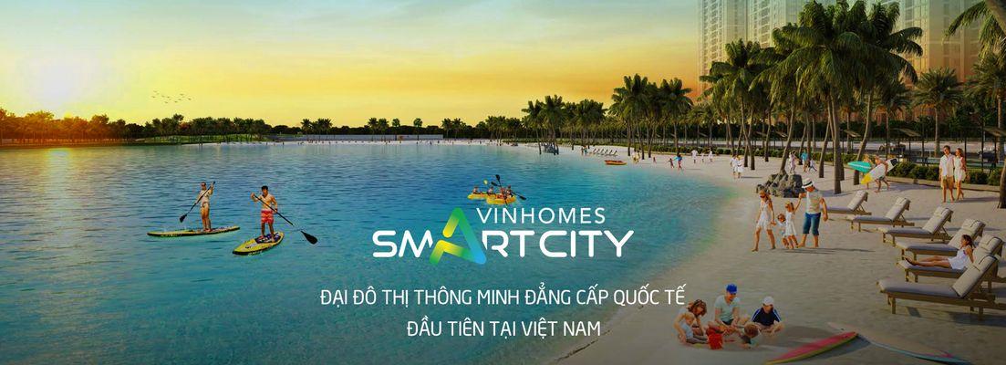 banner cho thuê vinhomes smart city