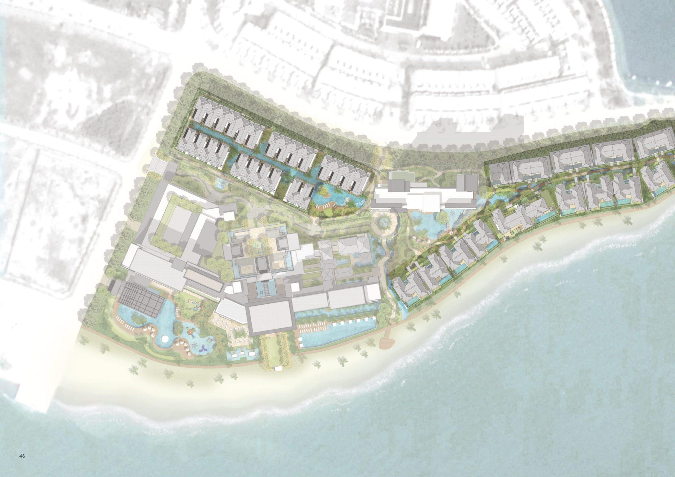 mặt bằng dự án intercontinental residences hạ long bay