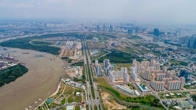 TP HCM tổ chức đấu giá 3 lô đất ở Thủ Thiêm - Ảnh 1.