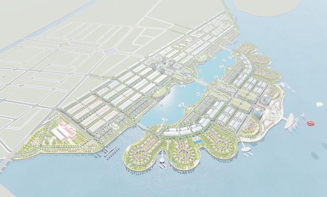 Thêm 2 khu đô thị sinh thái lấn biển ở Tây Nam - Ảnh 1.