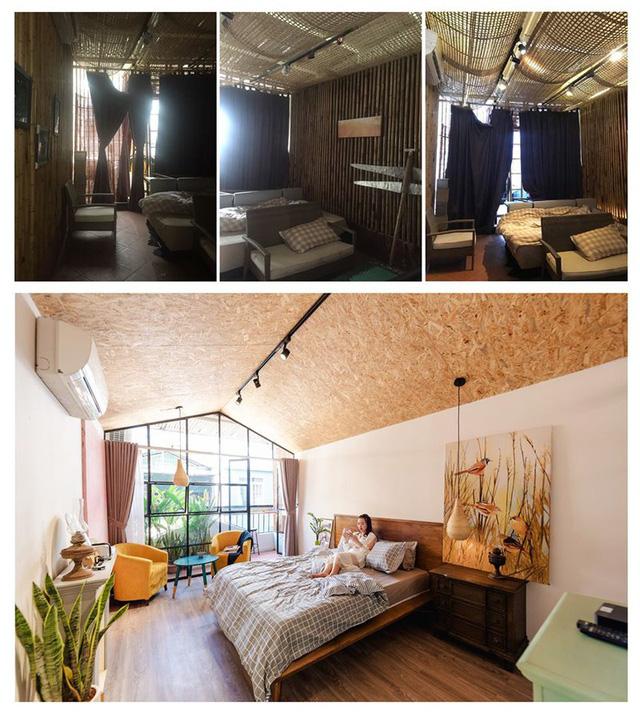 Phù phép tầng tum của nhà ống cũ thành không gian sống tuyệt đẹp - Ảnh 1.