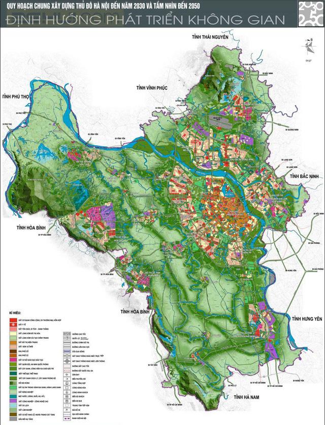 Hà Nội lập Ban chỉ đạo lập quy hoạch thành phố thời kỳ 2021-2030, tầm nhìn 2045 - Ảnh 1.