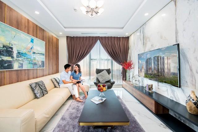 Nguồn cung căn hộ khan hiếm, dự án đắt giá chuẩn bị bàn giao thu hút đầu tư - Ảnh 1.