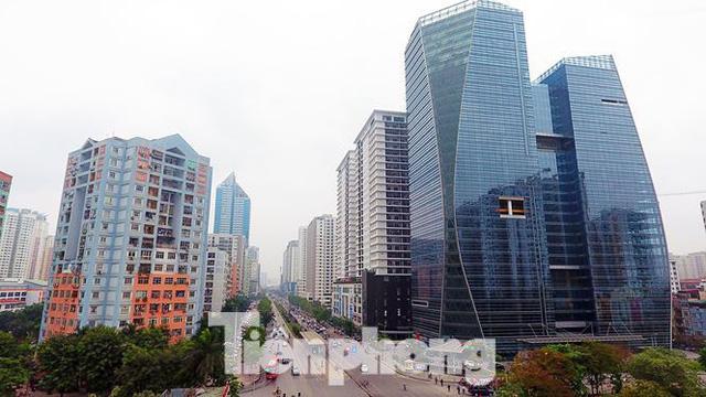 Cận cảnh khu đất công làm bãi xe biến hình thành cao ốc ở Hà Nội - Ảnh 11.