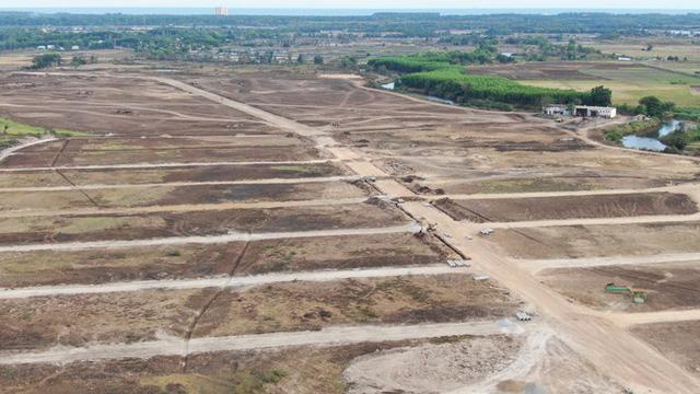 Cận cảnh khu đất ở Bà Rịa-Vũng Tàu đang bị kiểm tra vì bán đất nền kiểu Alibaba  - Ảnh 15.