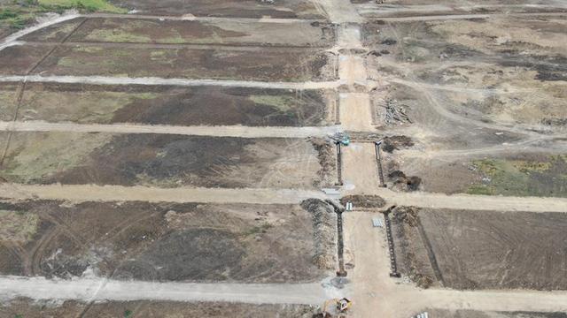 Cận cảnh khu đất ở Bà Rịa-Vũng Tàu đang bị kiểm tra vì bán đất nền kiểu Alibaba  - Ảnh 19.