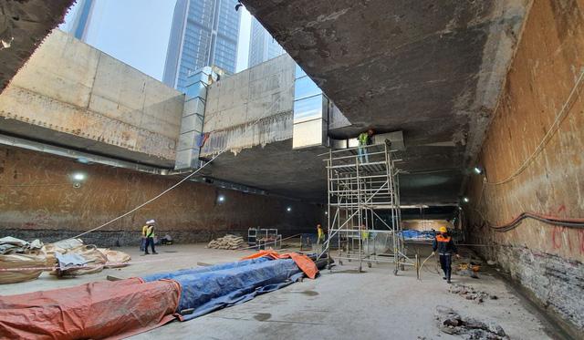 Thi công ga ngầm đường sắt đô thị Nhổn - Ga Hà Nội dưới độ sâu 19 m  - Ảnh 3.