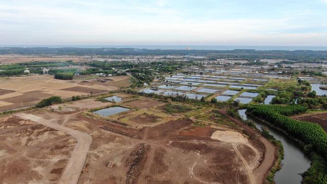 Cận cảnh khu đất ở Bà Rịa-Vũng Tàu đang bị kiểm tra vì bán đất nền kiểu Alibaba  - Ảnh 28.