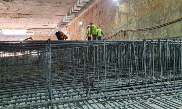 Thi công ga ngầm đường sắt đô thị Nhổn - Ga Hà Nội dưới độ sâu 19 m  - Ảnh 4.