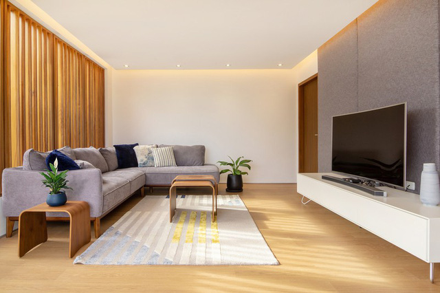 Ấn tượng thiết kế của ngôi nhà làm bằng gỗ và bê tông - Ảnh 6.