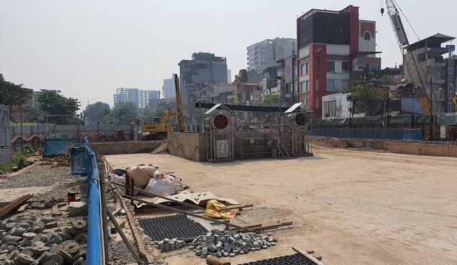 Thi công ga ngầm đường sắt đô thị Nhổn - Ga Hà Nội dưới độ sâu 19 m  - Ảnh 8.