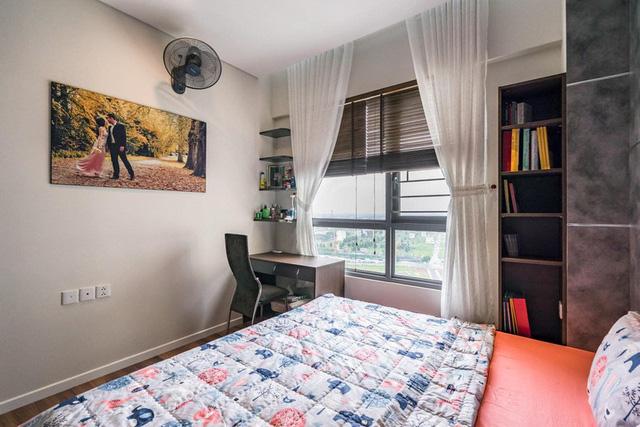 Căn hộ chung cư tông màu xám bền đẹp theo thời gian - Ảnh 8.