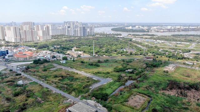 Cận cảnh khu đất 4,3ha ngoài ranh quy hoạch Thủ Thiêm người dân được hoán đổi - Ảnh 9.