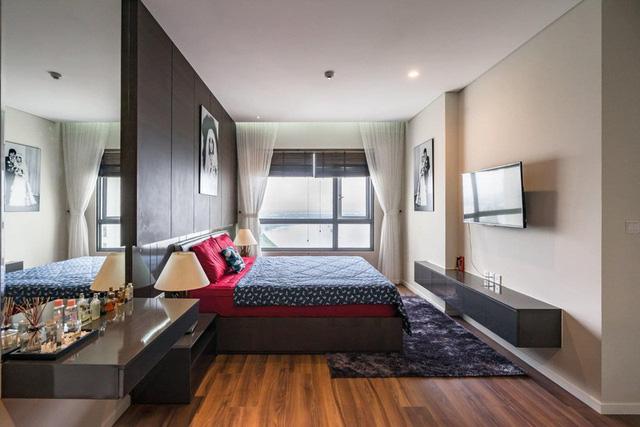 Căn hộ chung cư tông màu xám bền đẹp theo thời gian - Ảnh 10.