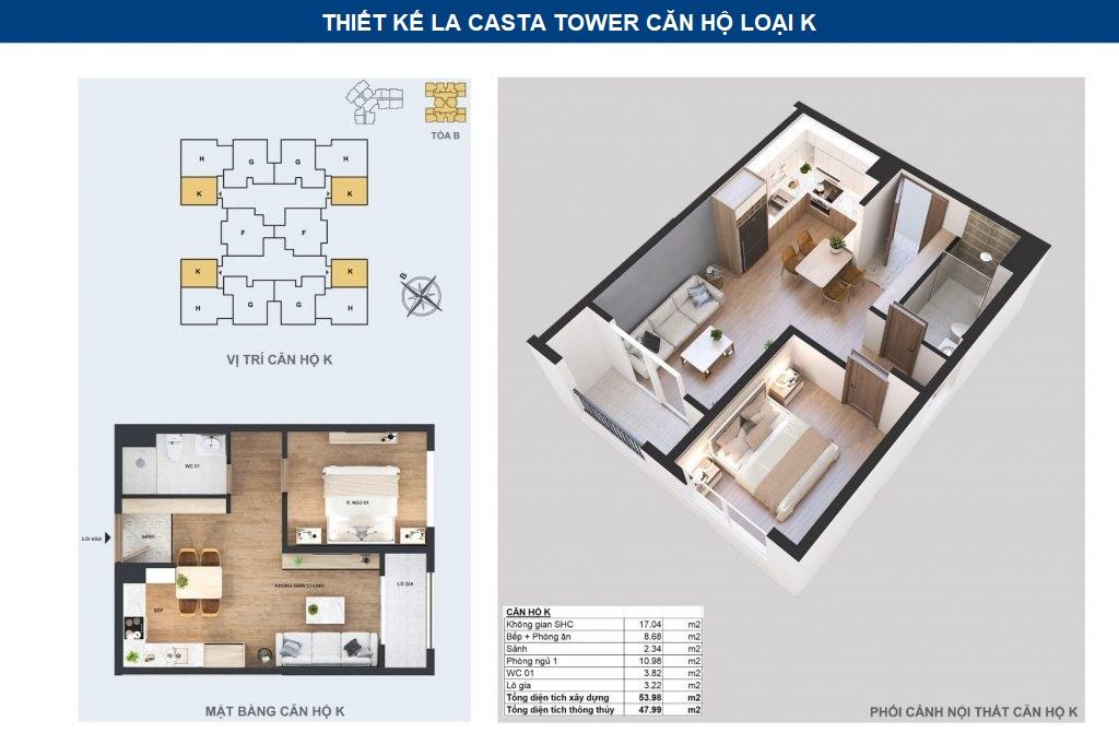 thiết kế chi tiết căn hộ k