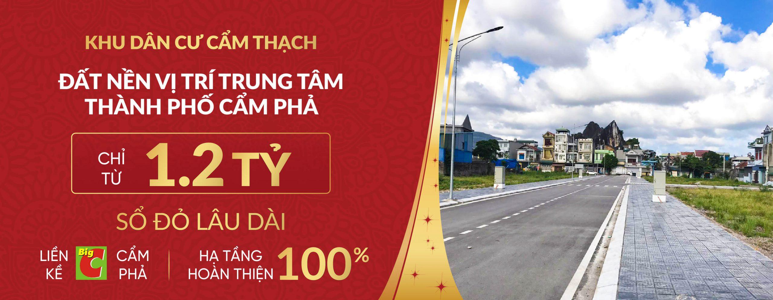 banner khu dân cư cẩm thạch