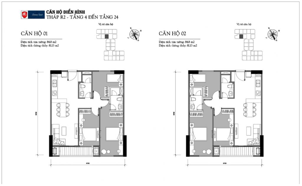 thiết kế căn hộ chung cư florence tower trần hữu dực tòa r2