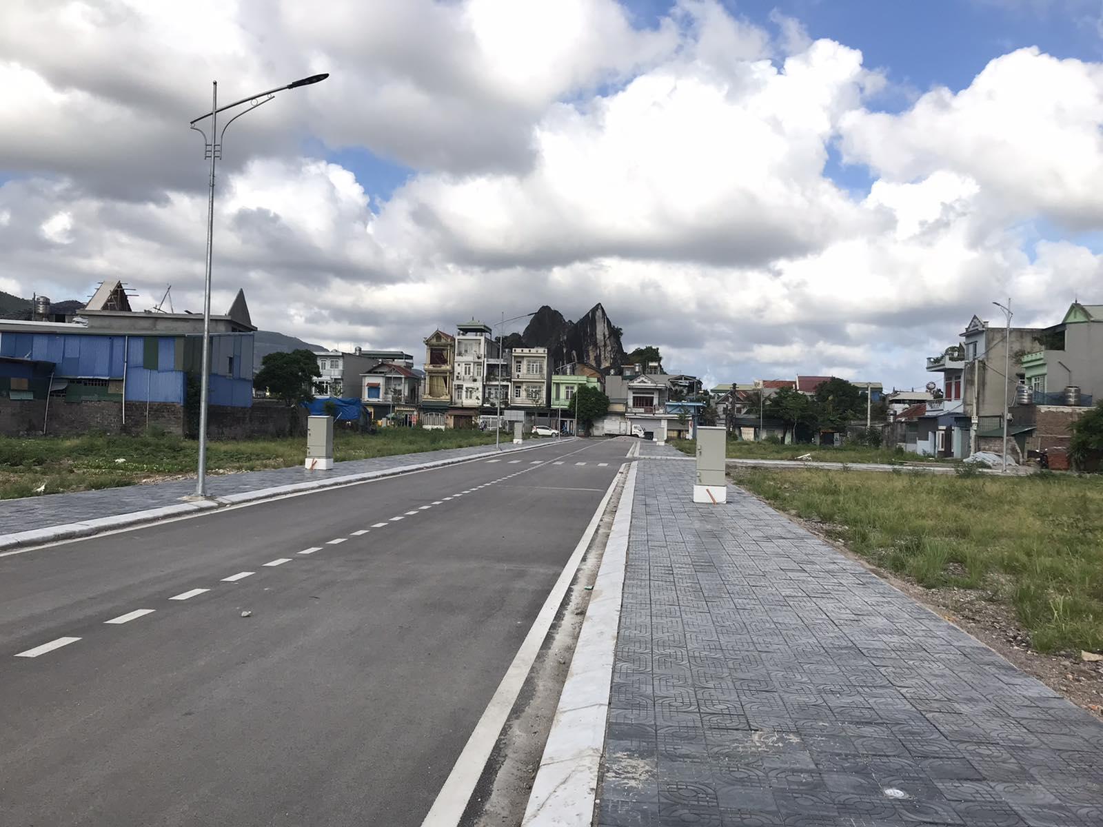 tiến độ xây dựng khu dân cư cẩm thạch