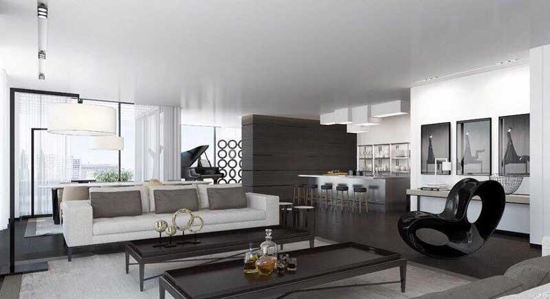 nội thất căn hộ ldg river
