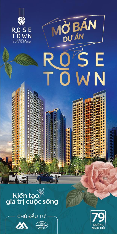 Chính thức mở bán Rose Town, dự án khu vực Phía Nam Hà Nội - Ảnh 1.