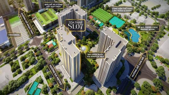"""Mở bán tòa tháp S1.07 – Nơi """"An lành sống xanh – An tâm giáo dục"""" của Vinhomes Ocean Park - Ảnh 2."""