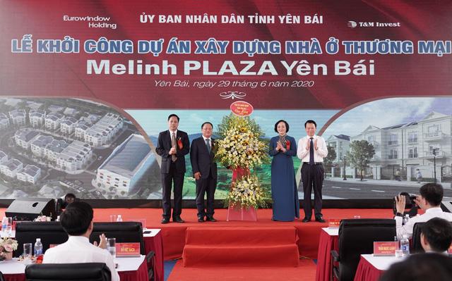 Eurowindow Holding khởi công xây dựng dự án Melinh PLAZA Yên Bái - Ảnh 3.