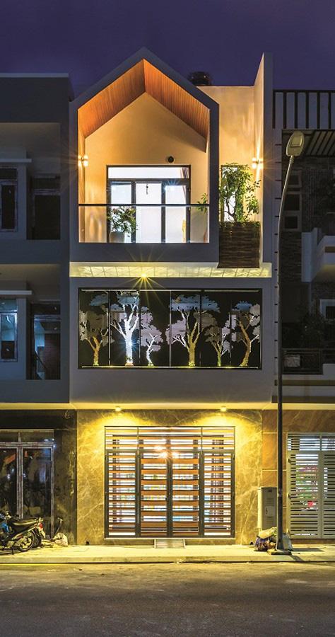 Ngôi nhà phố với sắc xanh mát mắt - Ảnh 10.