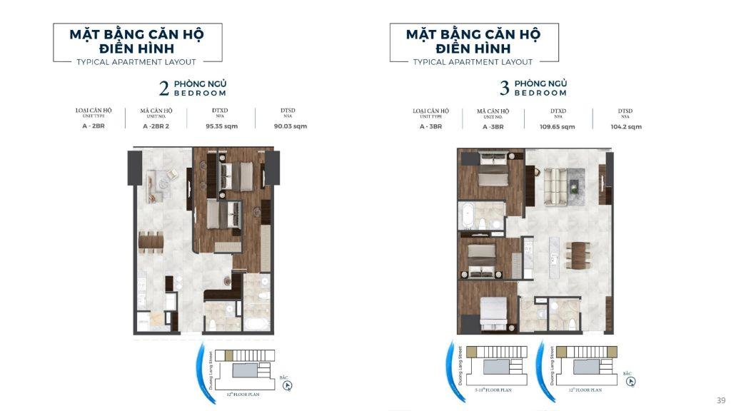 thiết kế chi tiết căn hộ du lịch