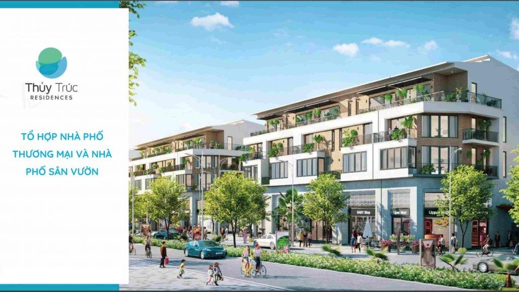 nhà phố thủy trúc residences eco park