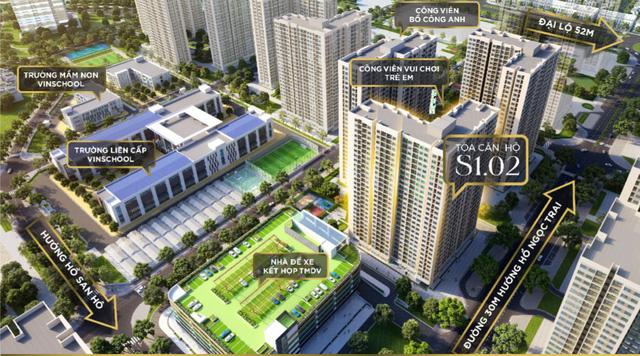 Mở bán tòa căn hộ S1.02 – Tâm điểm của dự án Vinhomes Ocean Park - Ảnh 2.