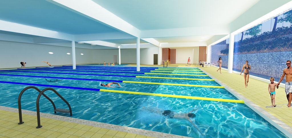 bể bơi 4 mùa thống nhất complex