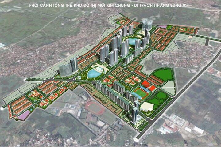 mặt bằng dự án hinode garden city