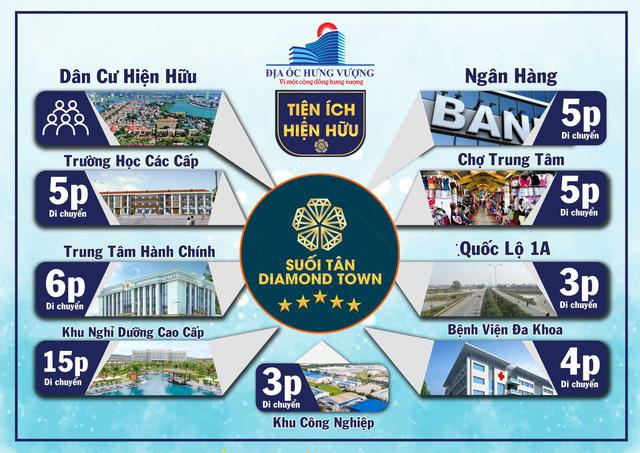 Bất động sản công nghiệp tại Suối Tân Diamond Town thu hút đầu tư - Ảnh 1.