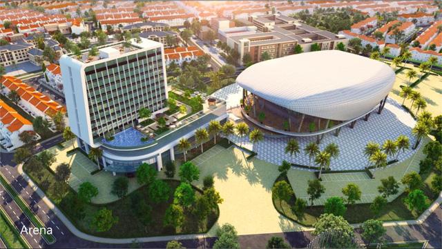 Aqua Arena và Novotel 4 sao - bộ đôi tăng giá trị cho Aqua City - Ảnh 2.