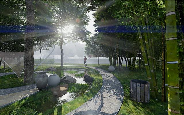 """Nhà Bè với định hướng là """"đô thị xanh"""" trong lòng thành phố - Ảnh 1."""