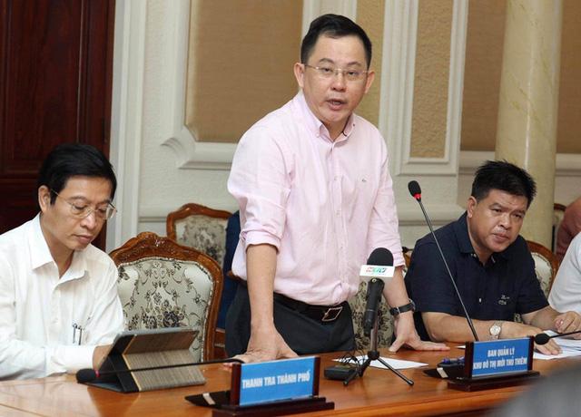 TP HCM: Kết thúc hợp đồng trước thời hạn 6 lô đất ở Thủ Thiêm - Ảnh 1.