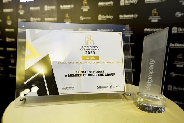 Dấu ấn đặc biệt của Sunshine Group tại Dot Property Vietnam Awards 2020 - Ảnh 1.