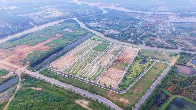 Công ty Vạn Phát Hưng xây 'chui', bán 'lụi' hàng trăm nền đất ở dự án Nhơn Đức - Ảnh 2.