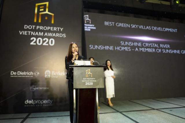 Dấu ấn đặc biệt của Sunshine Group tại Dot Property Vietnam Awards 2020 - Ảnh 2.