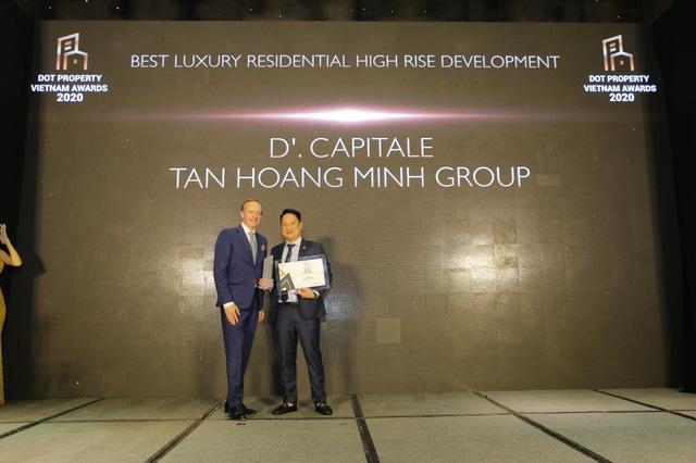 Tân Hoàng Minh lập cú hattrick giải thưởng lớn tại Dot Property Vietnam Awards 2020 - Ảnh 3.